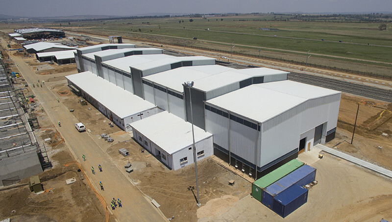 New Train Manufacturing Plant in South Africa