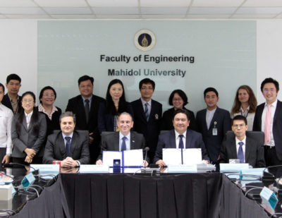 MoU Signed for Rail Industry Education and Research in Thailand