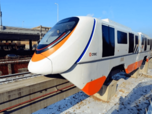 Driverless Monorail Trains
