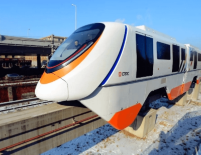 CRRC Debuts New Generation of Driverless Monorail Trains