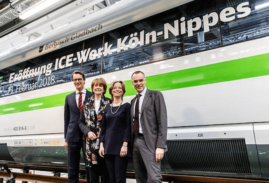 Carbon-Neutral Depot for ICE Trains