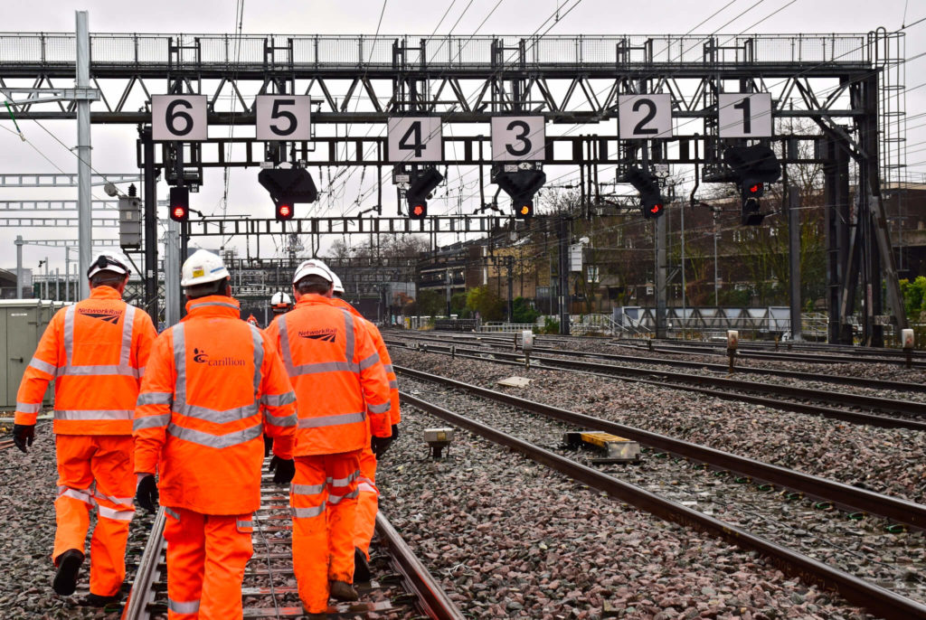 Carillion's Network Rail contracts