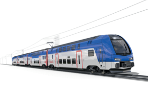 Stadler to Deliver Eight Double-Decker Trains to AB Transitio