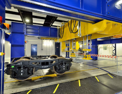UK Rail Minister Unveils £30m Centre of Excellence in Rolling Stock