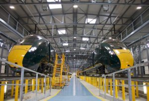 Hitachi and Great Western Railway Unveil First Italian-Built Trains