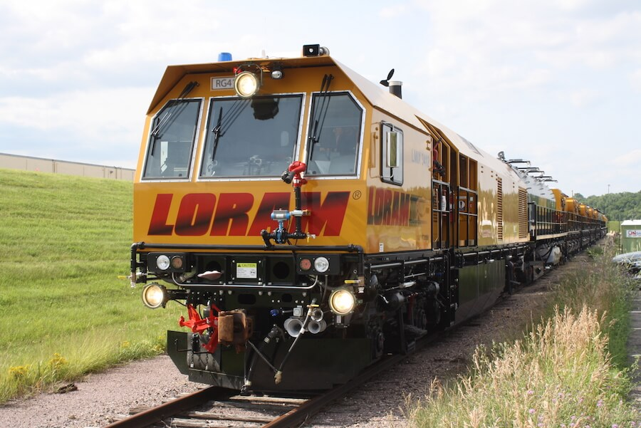 Loram Railroad Maintenance
