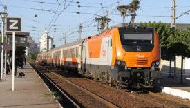 ONCF Electric Locomotive