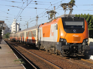 ONCF Electric Locomotive
