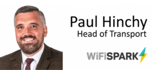WiFi SPARK Appoints Paul Hinchy as Head of Transport