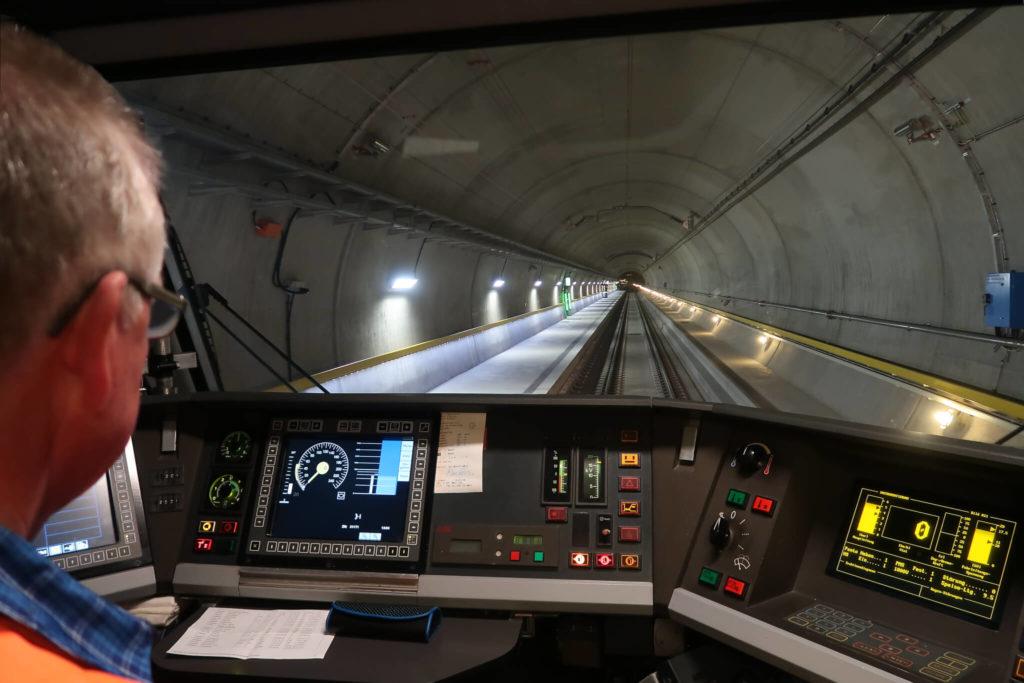 Gotthard Base Tunnel Train
