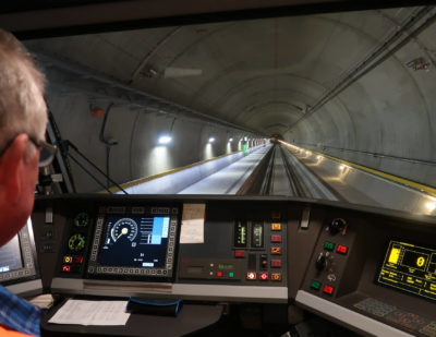 Gotthard Base Tunnel Project Receives 2018 European Railway Award