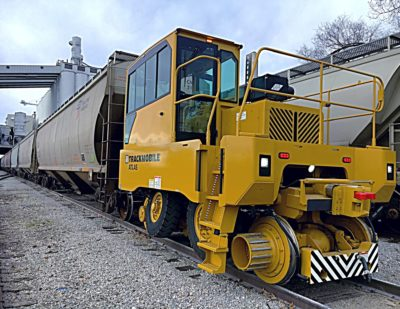 Trackmobile Atlas Model at Grain Facility
