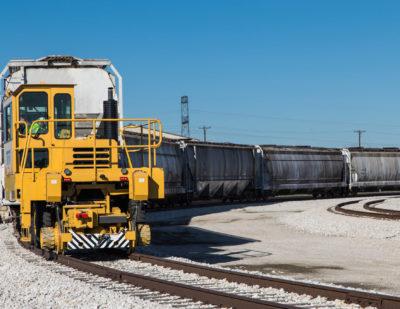 Trackmobile Biomass Plant
