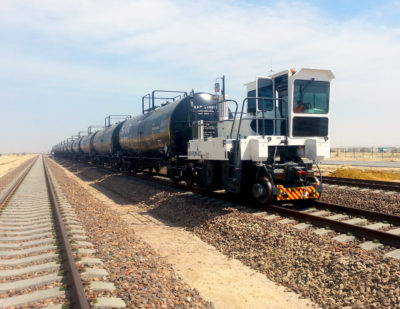 Trackmobile Rail Car Movers Keep the Workflow on Schedule in Yards and Facilities