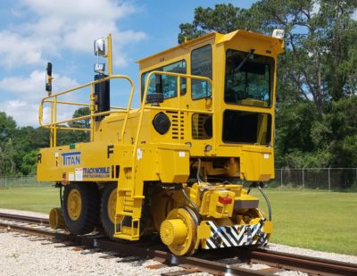 Trackmobile Titan with Options