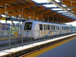 Skytrain Cars Vancouver