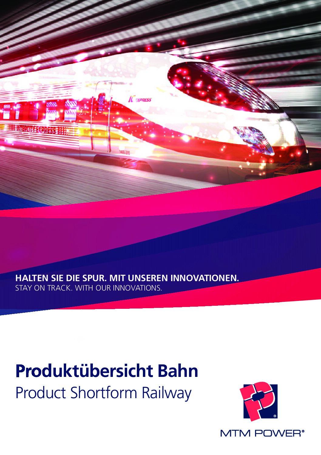 Railway Product Catalogue