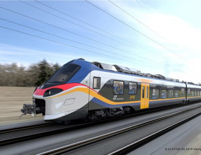 Alstom to Supply Additional Coradia Stream Regional Trains to Trenitalia