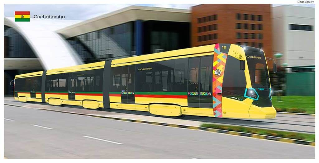 Electric Trams for Bolivia