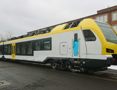 Go-Ahead's First Flirt 3 Trains for Baden-Württemberg Take Shape