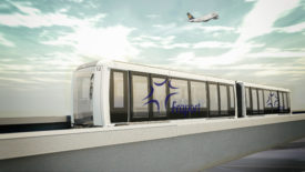 Fully Automated People Mover for Frankfurt Airport