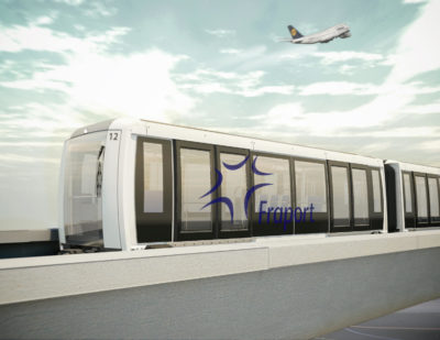 Siemens Consortium to Build Fully Automated People Mover for Frankfurt Airport