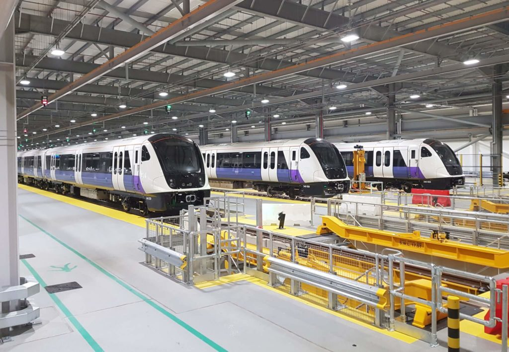 London Elizabeth Line Trains