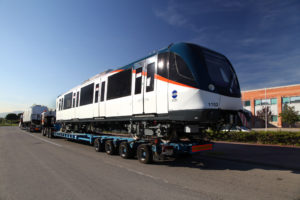 Alstom Ships First Metropolis Trainset for Panama Metro Line 2