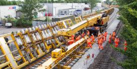 Railway Track Work Tender
