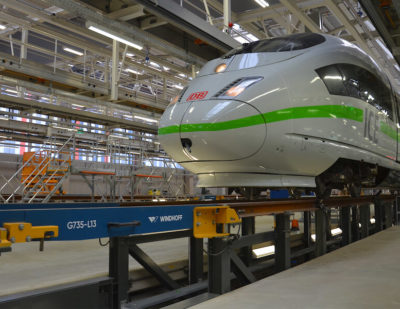 Windhoff Equips Europe's First Carbon-Neutral Depot With High-Tech Rail Products