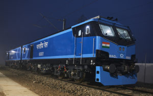 Alstom Completes First All-Electric Locomotive at Indian Facility