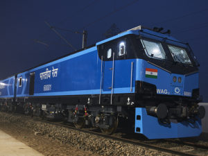All-Electric Locomotive