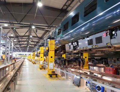 Mechan Signs Five Year Deal with Hitachi Rail
