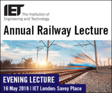 Annual Railway Lecture