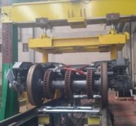 Bogie Weighing System for Future High-Speed Trains