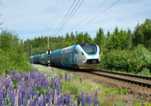 Bombardier's high-speed train for Västtrafik