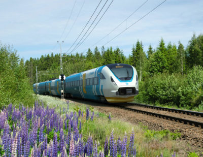 Bombardier's high-speed train for Västtrafik