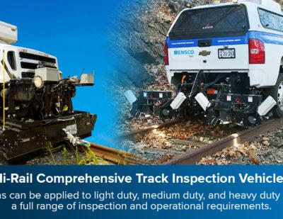 ENSCO Hi-Rail Comprehensive Track Inspection Vehicles