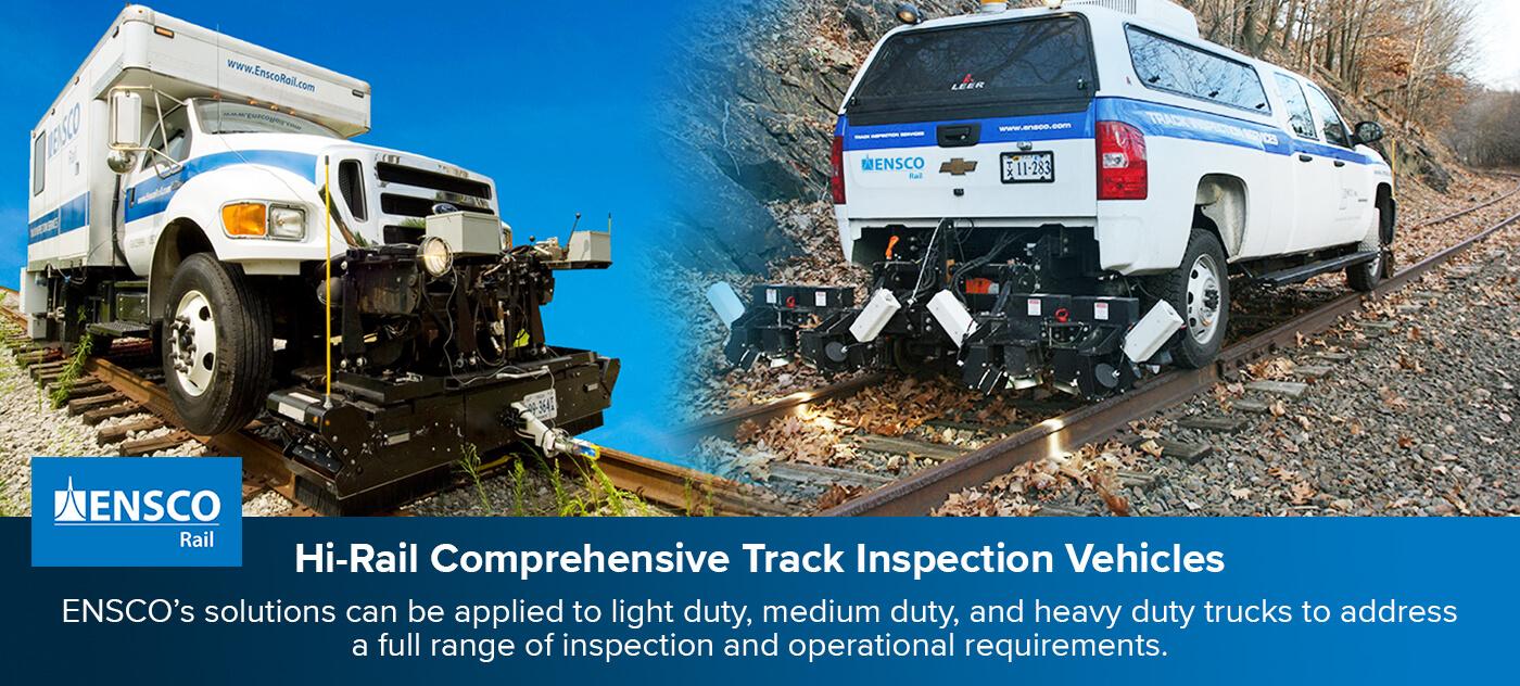 Hi-Rail Comprehensive Track Inspection Vehicles