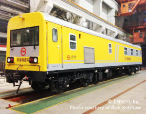 ENSCO Rail Delivers State-of-the-Art Track Geometry Measurement System to Shanghai Metro