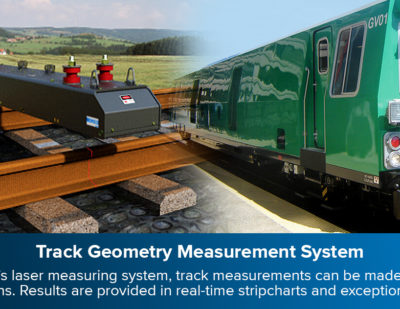 ENSCO Rail to Deliver ATGMS and Rail Profile Measuring System to Rumo ALL