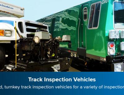 ENSCO Track Inspection Vehicles