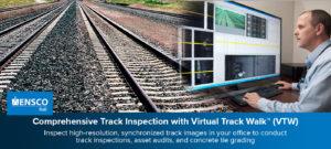 ENSCO Rail's Virtual Track Walk Featured in Washington Post