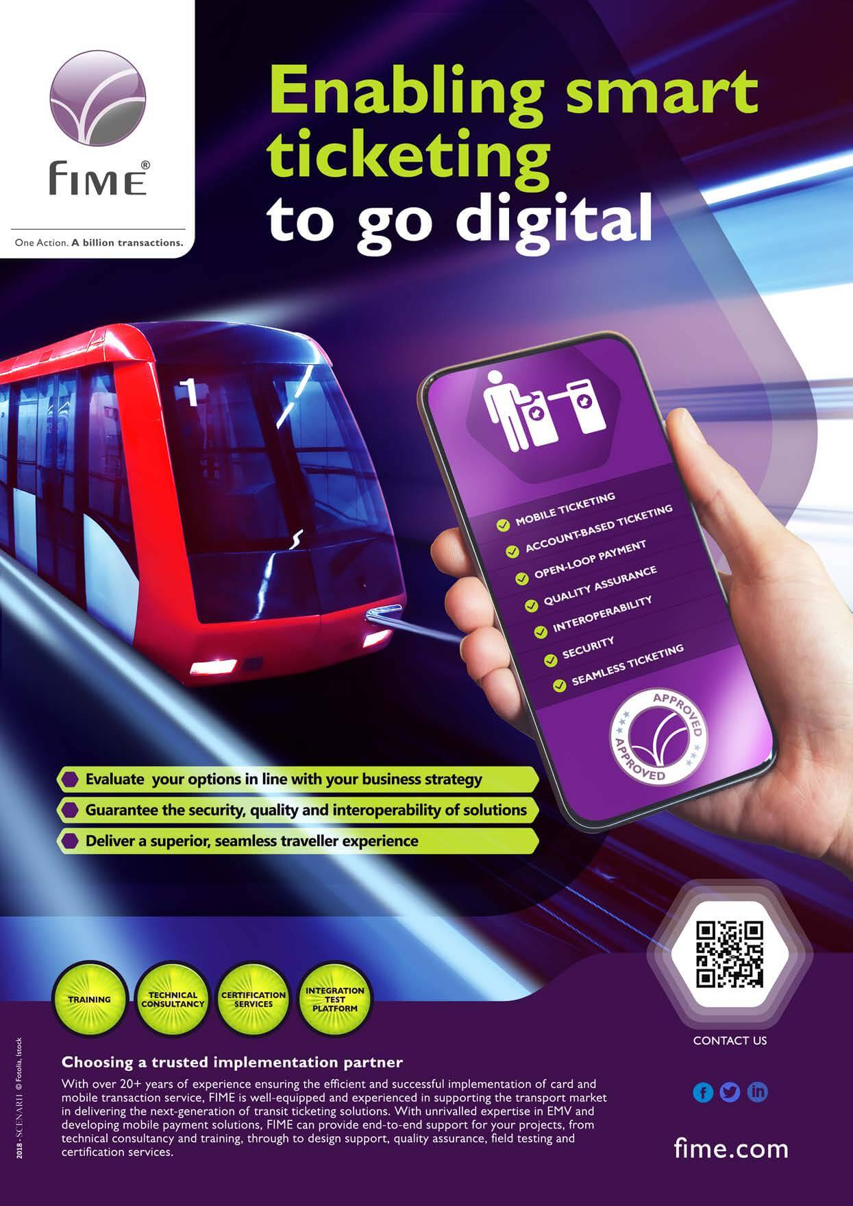 Smart ticketing for rail
