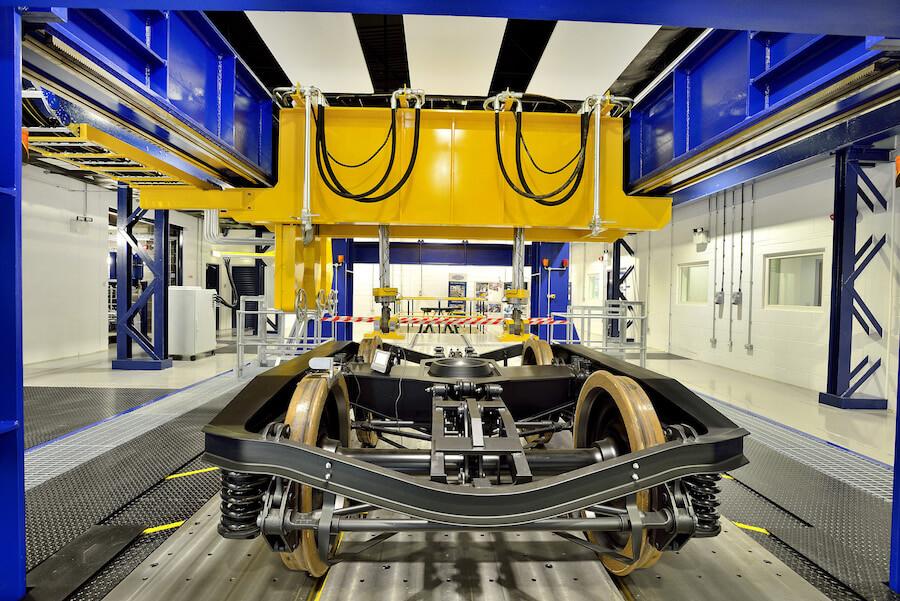 Recycled Carbon Fibre Rail Bogie