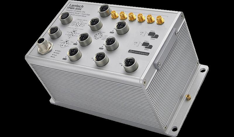 Lantech EN50155 4G Routers TPMR-5006-2L-2S-65