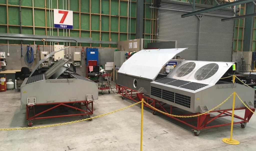 Rail HVAC Units