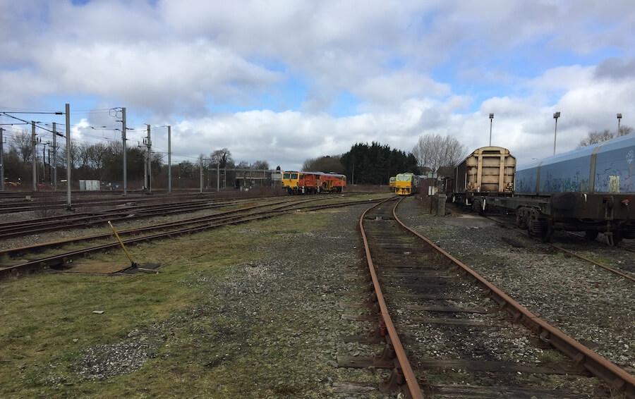 Wigan Train Depot