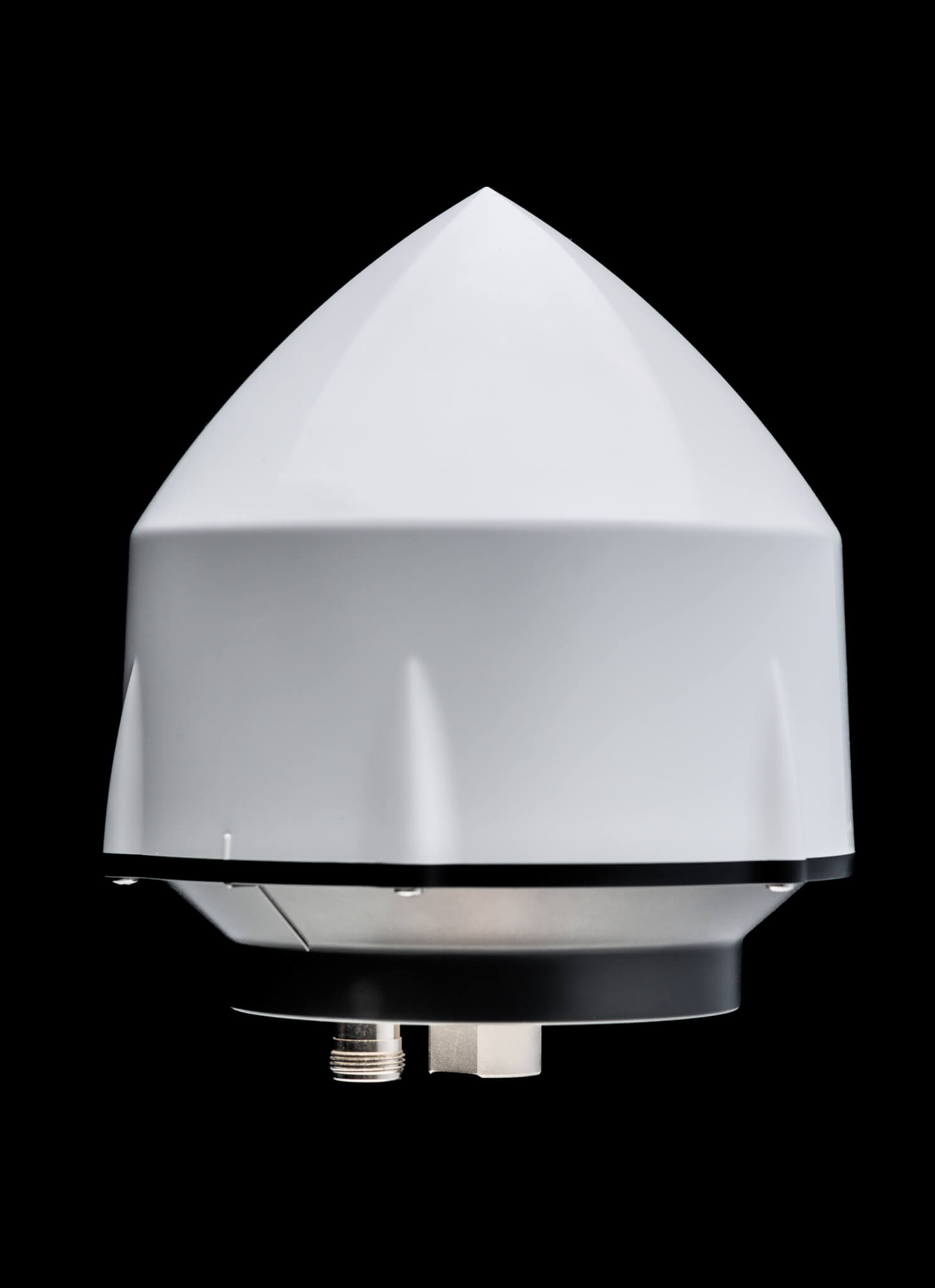 VeraPhase® 6300 Antenna Conical employed in RTK reference stations to enhance positional accuracy of rolling assets