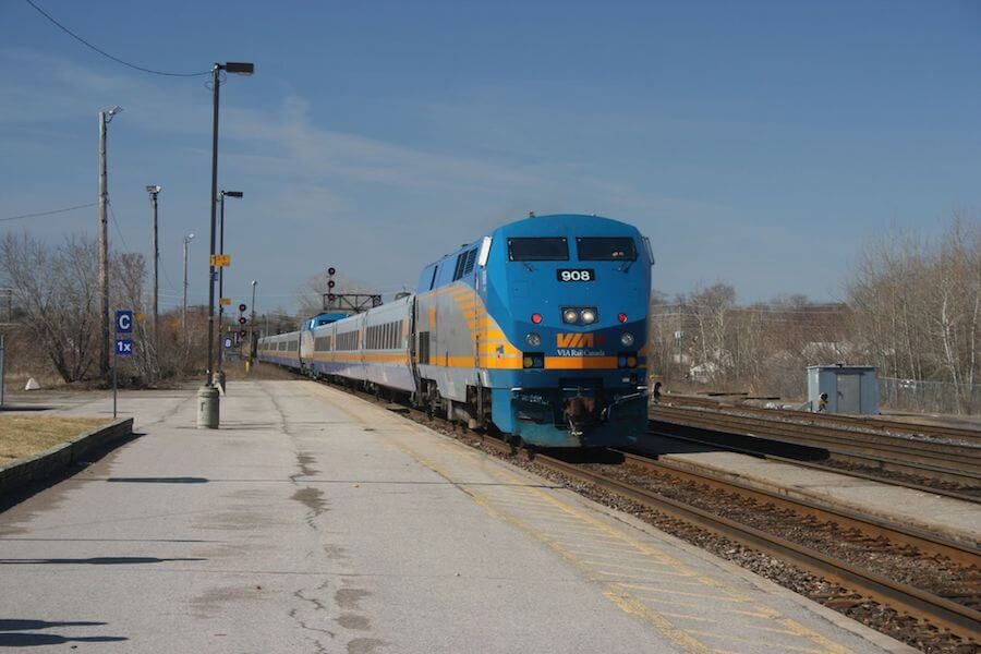 VIA Rail Canada Train